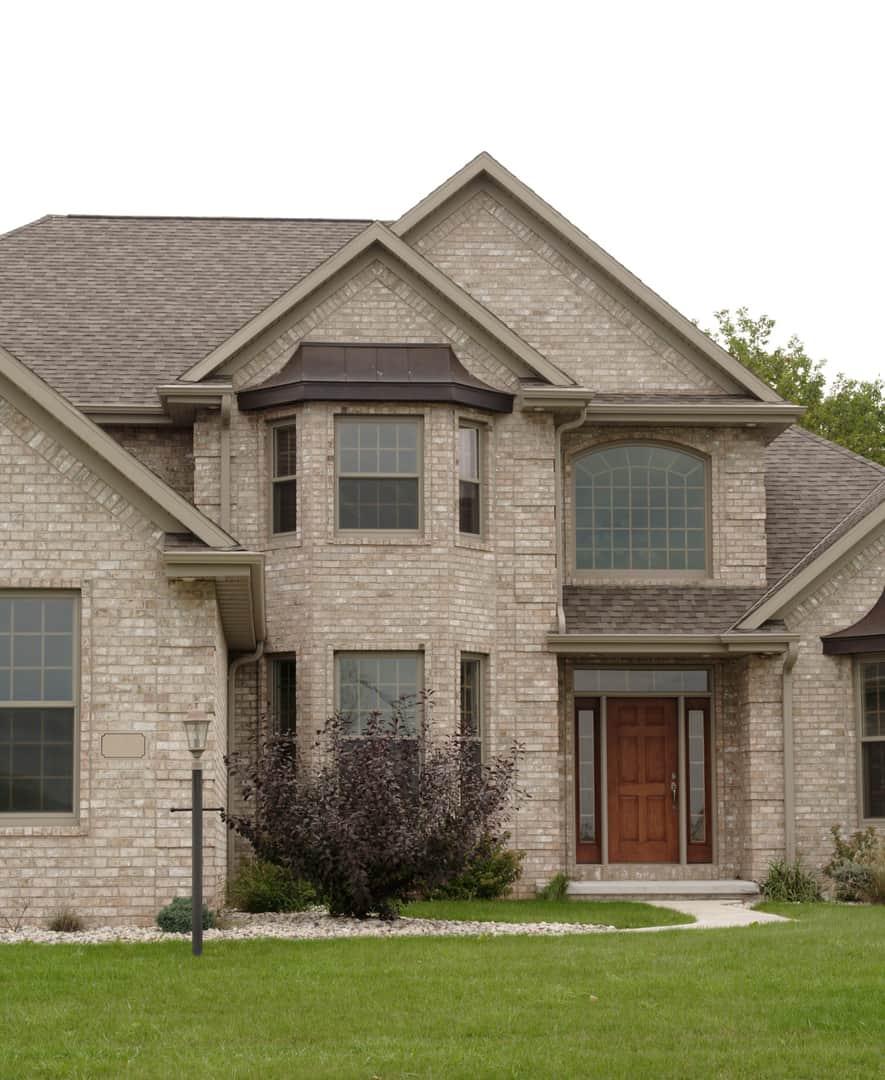 Brick Home Entrance Elite Home Restoration